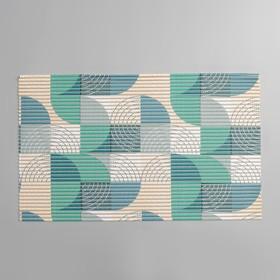 Коврик для ванны «Ассорти», 40×65 см, МИКС