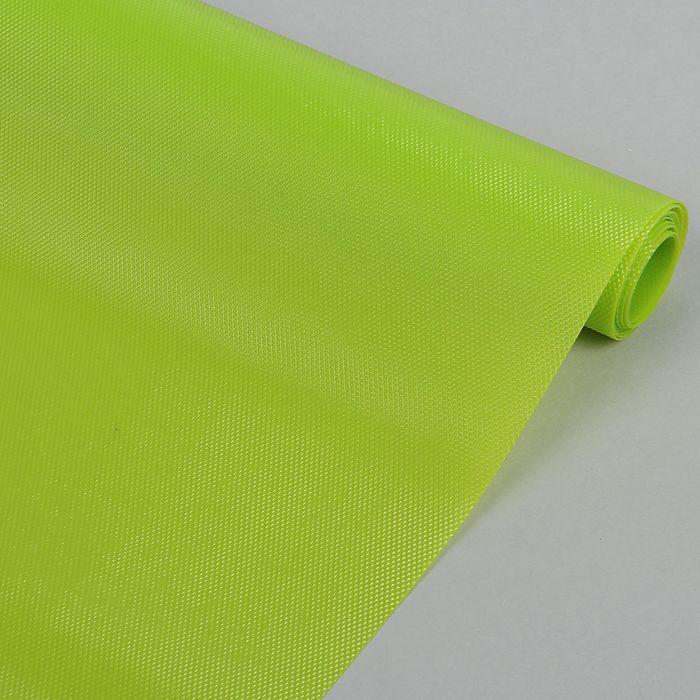 """Коврик противоскользящий сервировочный """"Ромбы"""" 45х100 см, цвет зелёный"""