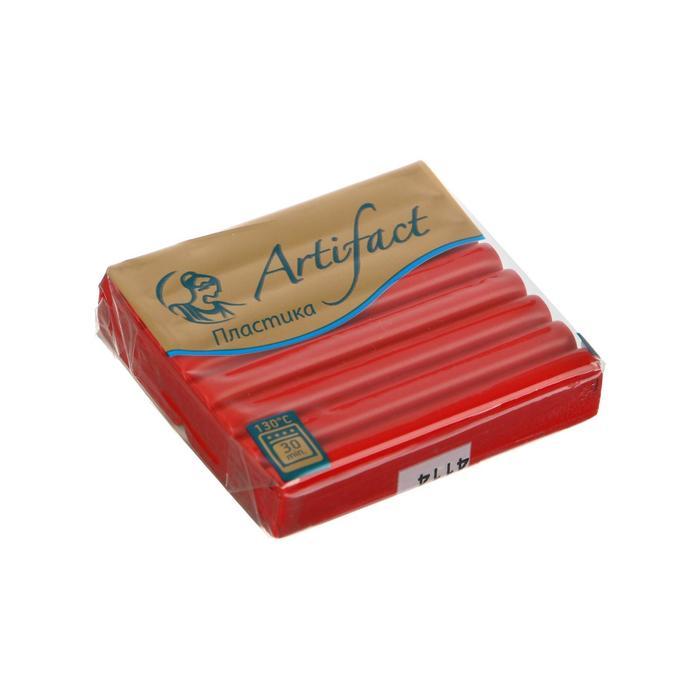 Полимерная глина запекаемая 56г классический Artifact королевский красный