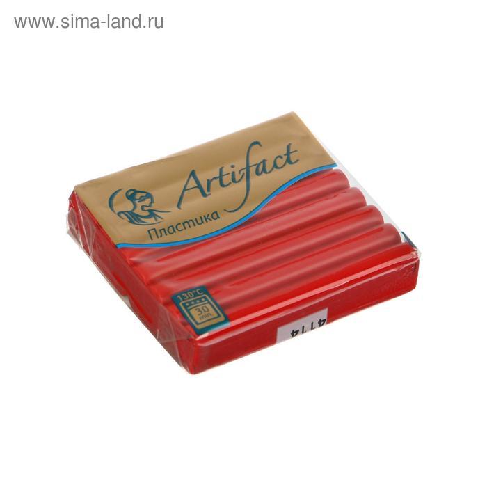 Полимерная глина запекаемая 56г классический Artifact королевский красный М3431