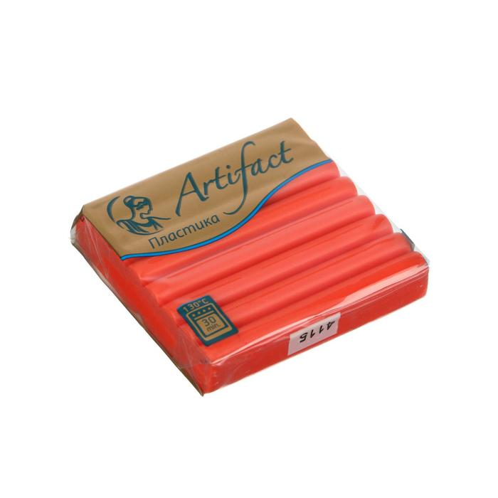 Полимерная глина запекаемая 56г классический Artifact томатный