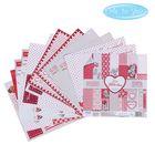 """Набор бумаги для скрапбукинга Me to you """"Это моя любовь"""", 12 листов, 15.5 x 15.5 см, 180 г/м²"""