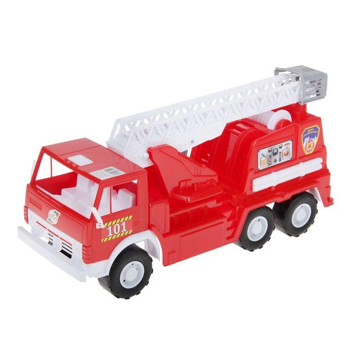 """Машина """"Камаз"""" - пожарная, функциональная"""