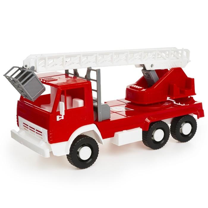Машина - пожарная, цвета МИКС - фото 105651078