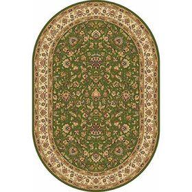 Ковёр овальный Izmir 5471, размер 200 х 300 см, цвет green