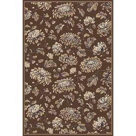 Ковёр прямоугольный Valencia Deluxe d253, размер 200 х 500 см, цвет brown