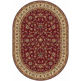 Ковёр овальный Buhara 5471, размер 160 х 300 см, цвет red