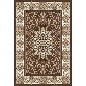 Прямоугольный ковёр Valencia Deluxe d316, 200 x 550 см, цвет brown