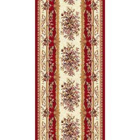 Ковровая дорожка Laguna 5439, 100 х 3000 см, цвет red