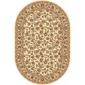 Ковёр овальный Izmir d155, размер 200 х 450 см, цвет cream