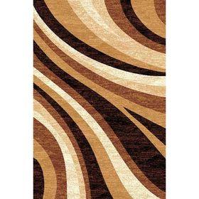 Прямоугольный ковёр Laguna d234, 100 х 200 см, цвет beige