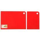 Набор досок разделочных Elastico, 2 шт: 25х17 см, 35х25 см, цвет МИКС
