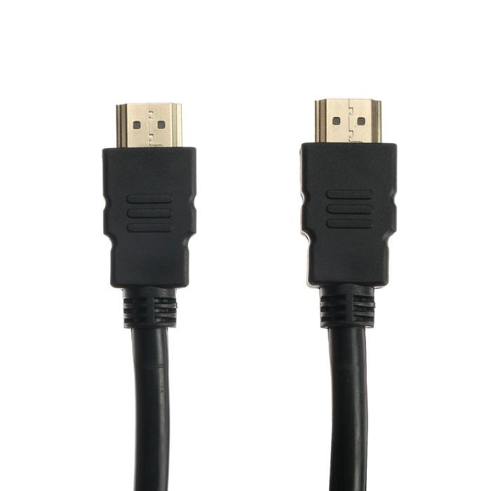 Кабель HDMI-HDMI Gembird Cablexpert, v 1.4, 10 м, 19/19 M, экранировка, черный