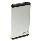 """Внешний корпус Gembird EE2-U3S-2-S, 2.5"""", USB 3.0, SATA, металл, цвет серебро"""