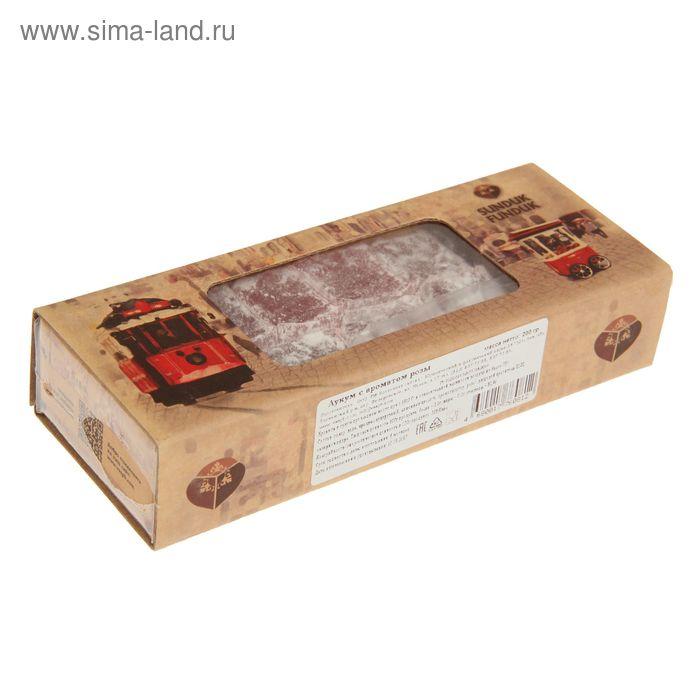 Лукум с ароматом розы 200 гр ТМ Sunduk Funduk
