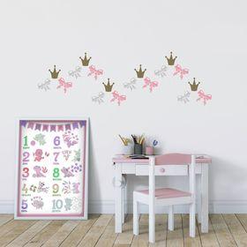 """A set of interior labels """"Princess"""", 21 x 29,5 cm"""