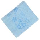 Полотенце махровое Fiesta Elara 30х50 см голубой 400гр/м, хлопок 100%