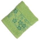 Полотенце махровое Fiesta Elara 30х50 см зеленый 400гр/м, хлопок 100%