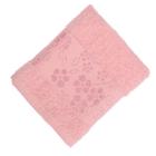 Полотенце махровое банное Fiesta Elara, размер 70х130 см, цвет розовый, 400 г/м2
