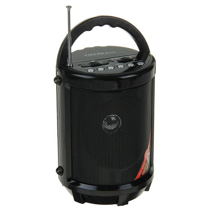 """Радиоприемник """"VIKEND TOURIST"""", УКВ, USB, SD/MMC, AUX, встроенный фонарик"""