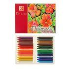 Пастель масляная 24 цветов Люкс, трехгранная