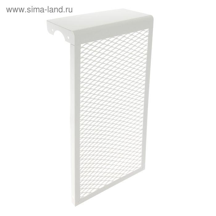 Экран на радиатор, 3-х секционный, металлический