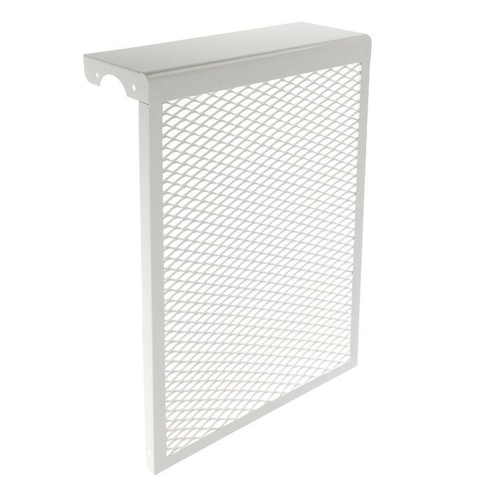 Экран на радиатор, 4-х секционный, металлический