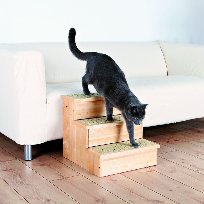 Лесенка Trixie для собак, 40 × 38 × 45 см, деревянная