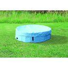 Крышка Trixie на бассейн для собак, 80 см, светло-голубой