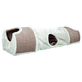 Туннель-когтеточка Trixie 110 x 30 x 38 см,светло-серый/коричневый Ош