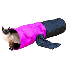 Тоннель Trixie для кошки, шуршащий, 115 см, ф 30 см. Ош