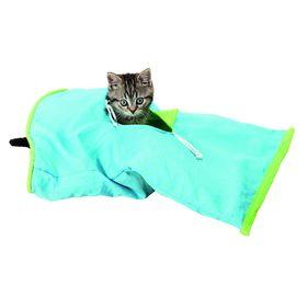 Шуршащий туннель Trixie для кошки 50 × 28 см, синий / зеленый Ош