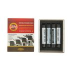 Уголь для рисования художесвенный Koh-I-Noor GIOCONDA 8694 Extra 12.0мм 4 штуки (разной твердости)