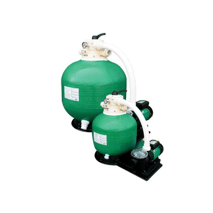Комплект для купели: нагреватель Pahlen 3 кВт и моноблок KB400, насос STP50, фильтр POOL KING 177914