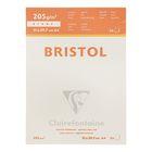 Альбом для черчения А4 297*210 Clairefontaine Bristol 20 листов 205 г/м2 склейка 96173С