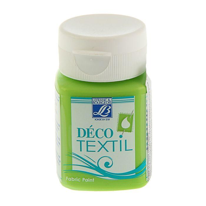 Краска для ткани 50 мл LeFranc&Borgeois DECO TEXTIL 586 Анис LF211484