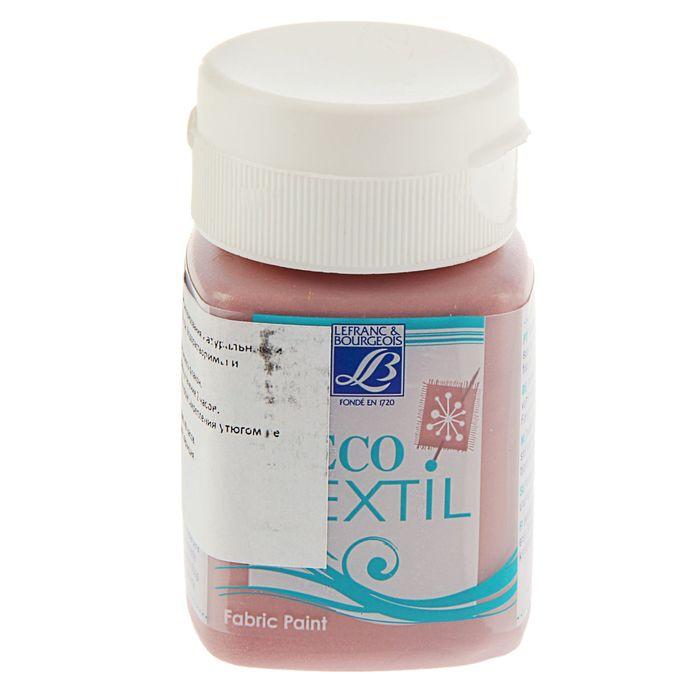 Краска для ткани 50 мл LeFranc&Borgeois DECO TEXTIL 742 Перламутровый розовый LF211506