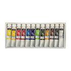 Краски масляные художественные набор в тубах 12 цветов*10 мл LeFranc&Borgeois LOUVRE LF806914