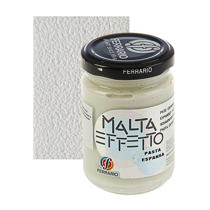 Паста текстурная белая 150 мл Ferrario MALTA объёмная CL152400