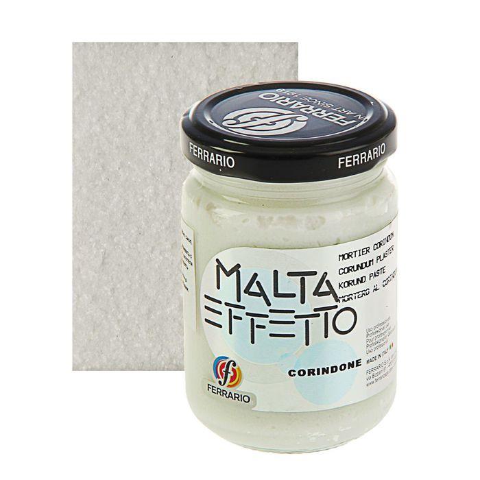 Паста текстурная эффект хрусталя 150 мл Ferrario MALTA корундовая CC1513ОО