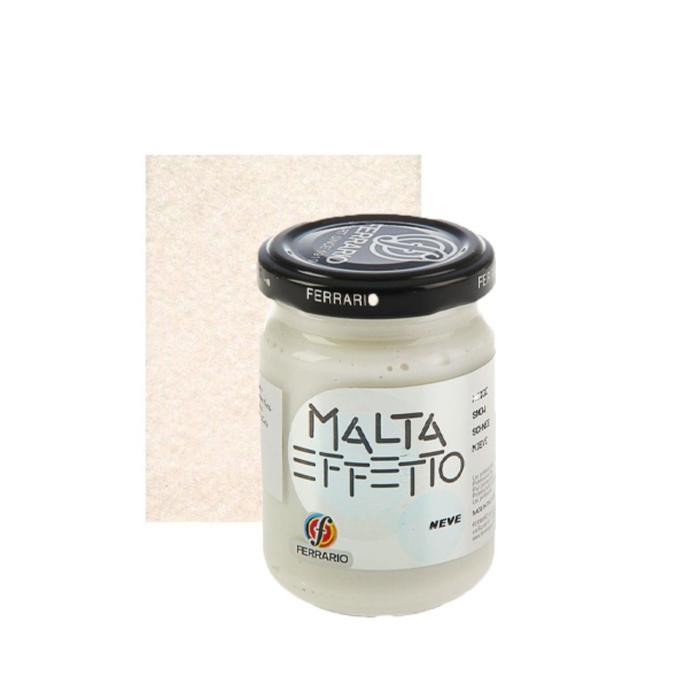 Паста текстурная эффект снега Ferrario MALTA Neve 150 мл CP150000