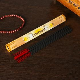 """Благовония Sarath """"Кедр. Cedar"""", 20 палочек в упаковке, шестигранник"""