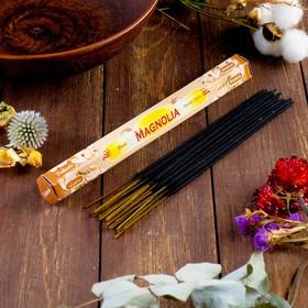 """Благовония Sarathi """"Magnolia. Магнолия"""", 20 палочек в упаковке, шестигранник"""