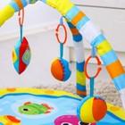 Коврик развивающий «Я чудо», 75х75 см, дуги, 5 игрушек - фото 105522887