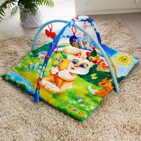 Развивающий коврик «Наше счастье», с дугами