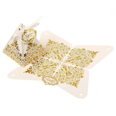 Бонбоньерка «Роскошь золота», 7,2 × 7,2 × 7,5 см