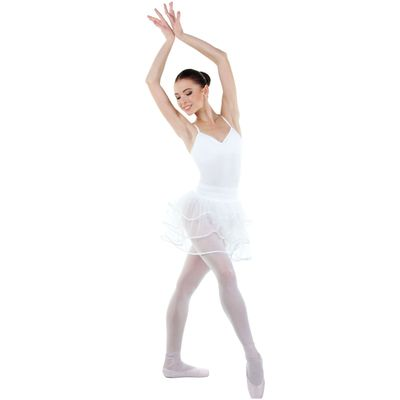 Трико для хореографии, размер 26, цвет белый
