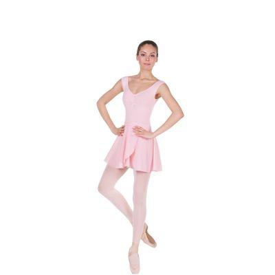 Трико для хореографии, размер 34, цвет розовый