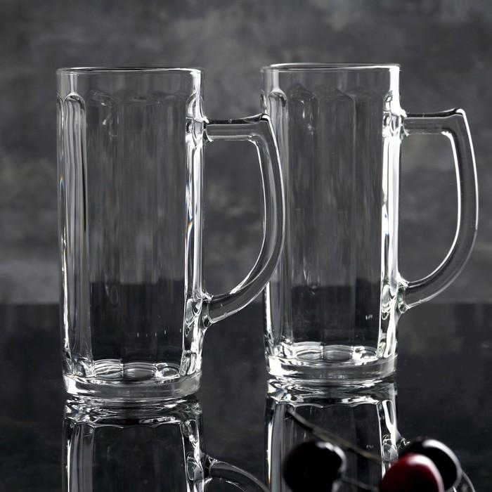 "Набор кружек для пива 500 мл ""Гамбург"", 2 шт"