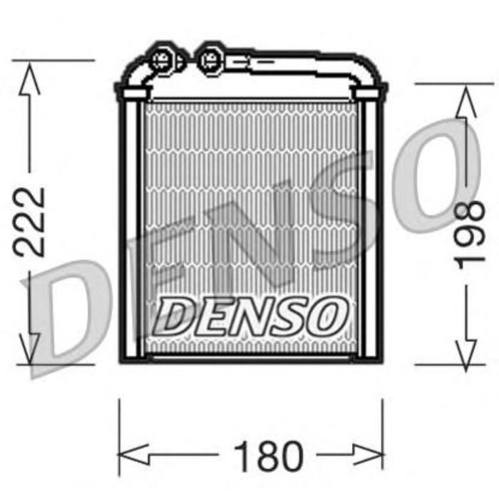 Радиатор отопителя Denso DRR32005